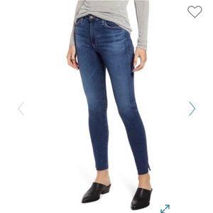 AG The Farrah High Rise Skinny Ankle Jean sz 30